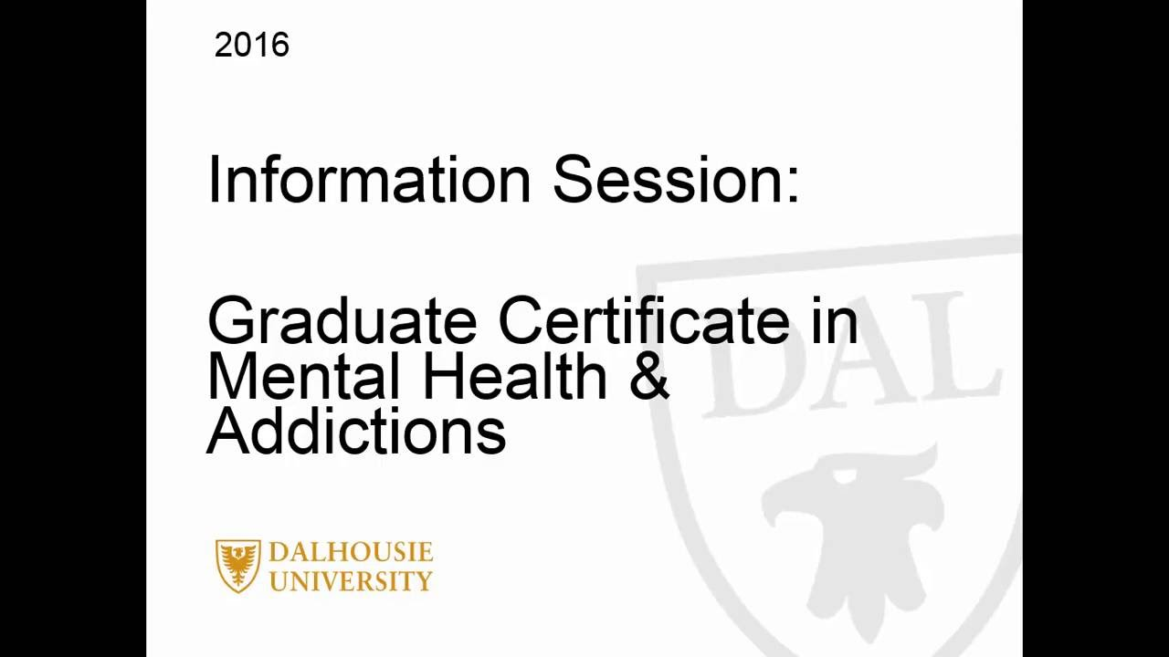 Introduction To Dalhousie Universitys Graduate Certificate In