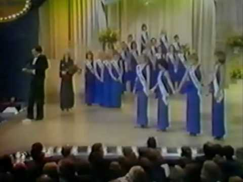 Miss Canada 1981 - Crowning Moment