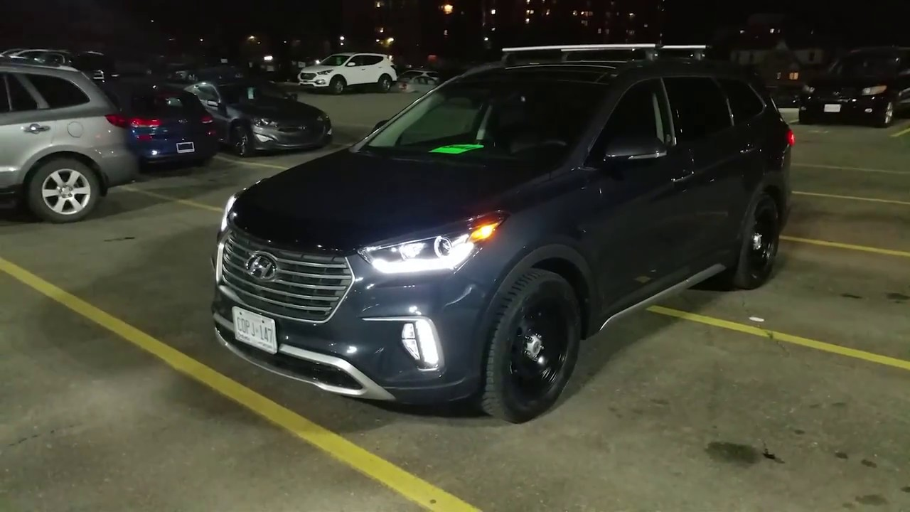 2018 Hyundai Santa FE XL Ultimate Features Overview