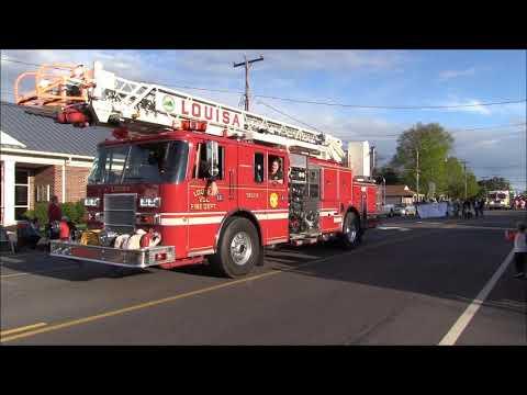 2018 Mineral Volunteer Fire Department Firemen's Parade