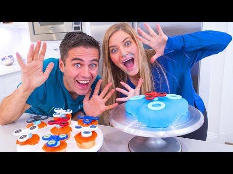 Fidget Spinner Cake!