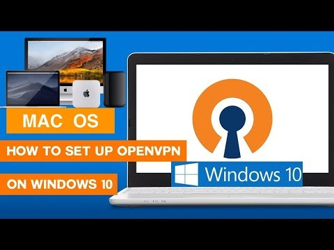FREE OpenVPN | How To Install, Configure And Connect Client WINDOWS And MAC