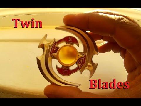 Twin Blades Quad Dual Fidget Spinner Yuan Fang Amazon China Youtube