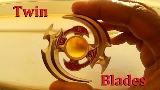 Twin Blades Quad Dual Fidget Spinner Yuan Fang Amazon China
