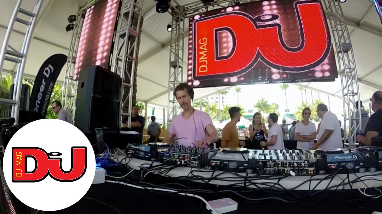 Cash Pool Mannheim Josh Wink Dj Set At Dj Mag Pool Party In Miami 2016