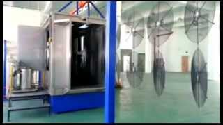 wire fan guard, automatic powder coated machine