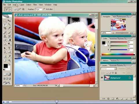 Tutorial Photoshop cs 3 Bahasa Indonesia : Merubah warn ...