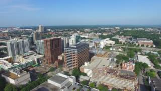 Aerial Drone Video Atlanta, GA Skyline 4K(This video was shot on July 9th, 2016 with a DJI Phantom 3 Professional. Shots are from Midtown off Peachtree Street and 11th and from Downtown from The ..., 2016-07-17T14:05:03.000Z)