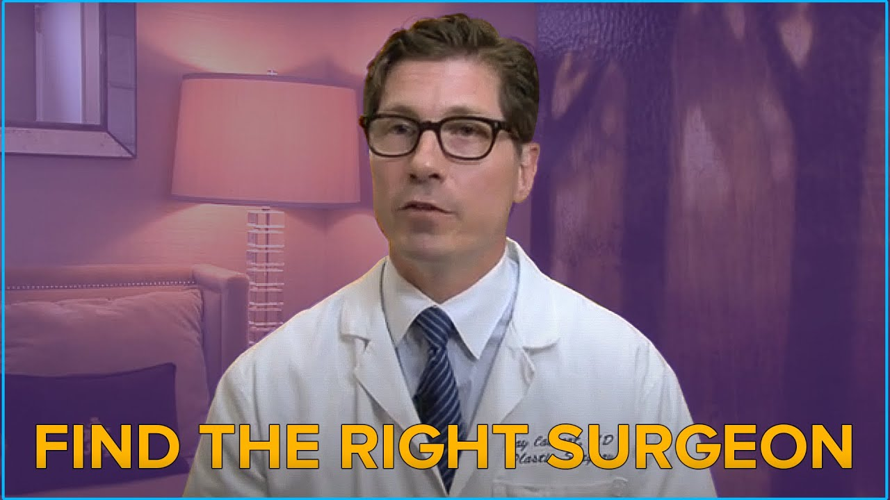 plastic surgeon dr jay calvert discusses how to the right plastic surgeon dr jay calvert discusses how to the right surgeon for you