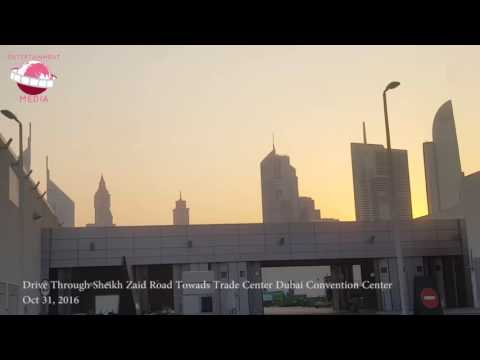 Dubai International Convention And Exhibition Centre Zaabeel Hall Dubai Tour Drive Through