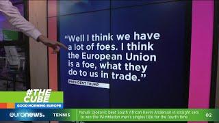 #TheCube | Friends or Foes? Donald Trump calls the EU