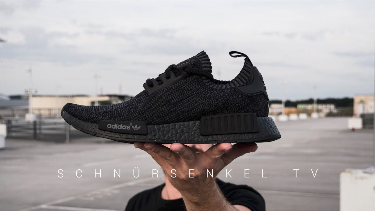 f3701bf46bb adidas NMD FRIENDS   FAMILY PITCH BLACK 1 of 500 - rarest expensive Sneaker  review