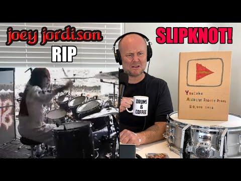Drum Teacher Reacts: JOEY JORDISON R.I.P. | Slipknot | My First Time Listening To Him!