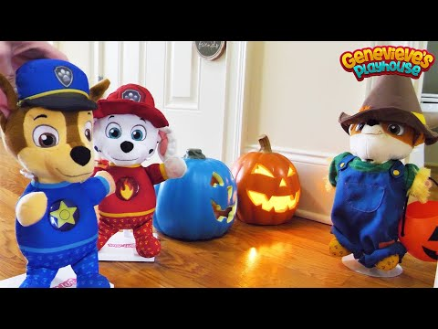 paw-patrol-baby-pup-halloween-&-cooking-contest-toy-learning-videos-for-kids!