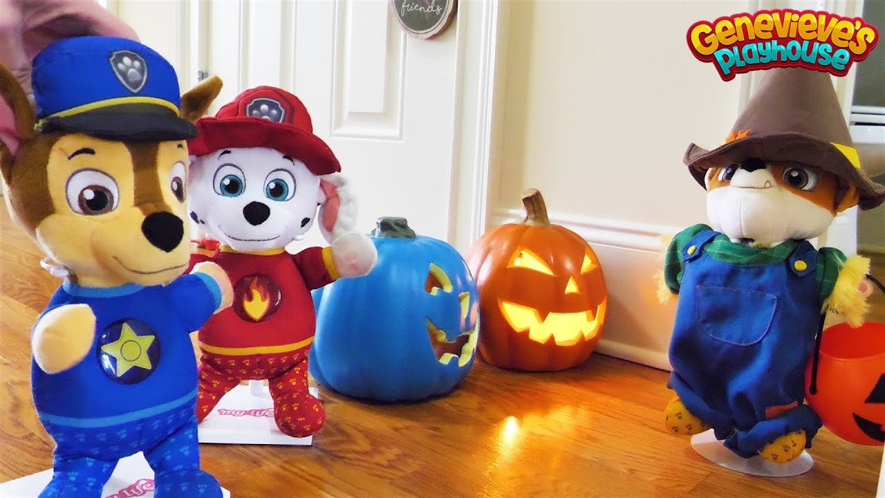 Paw Patrol Baby Pup Halloween Cooking Contest Toy