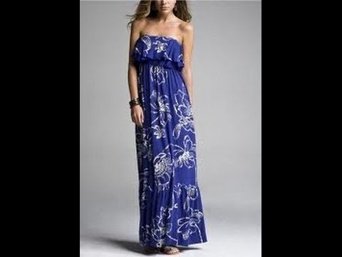 DIY Maxi dress(SEWING) & DIY: Maxi dress(SEWING) - YouTube