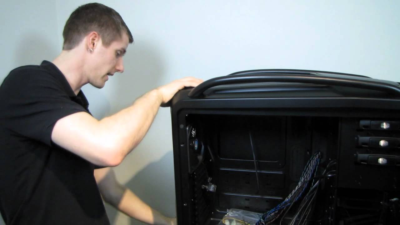 Cooler Master Cosmos II Extreme Gaming Case Unboxing