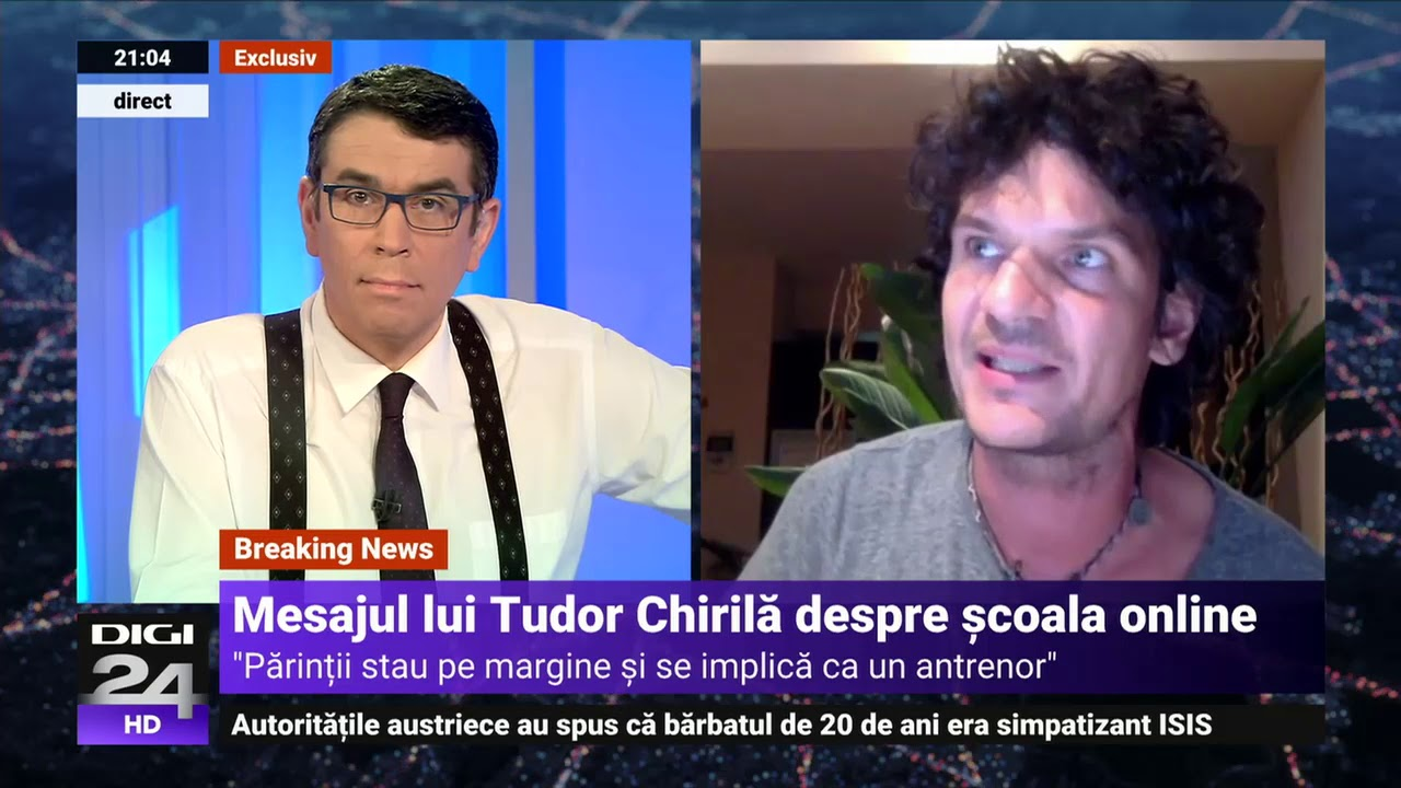 """Tudor Chirilă: """"Copiii sunt privați de experiența școlii pentru interese politice"""" - Digi24"""