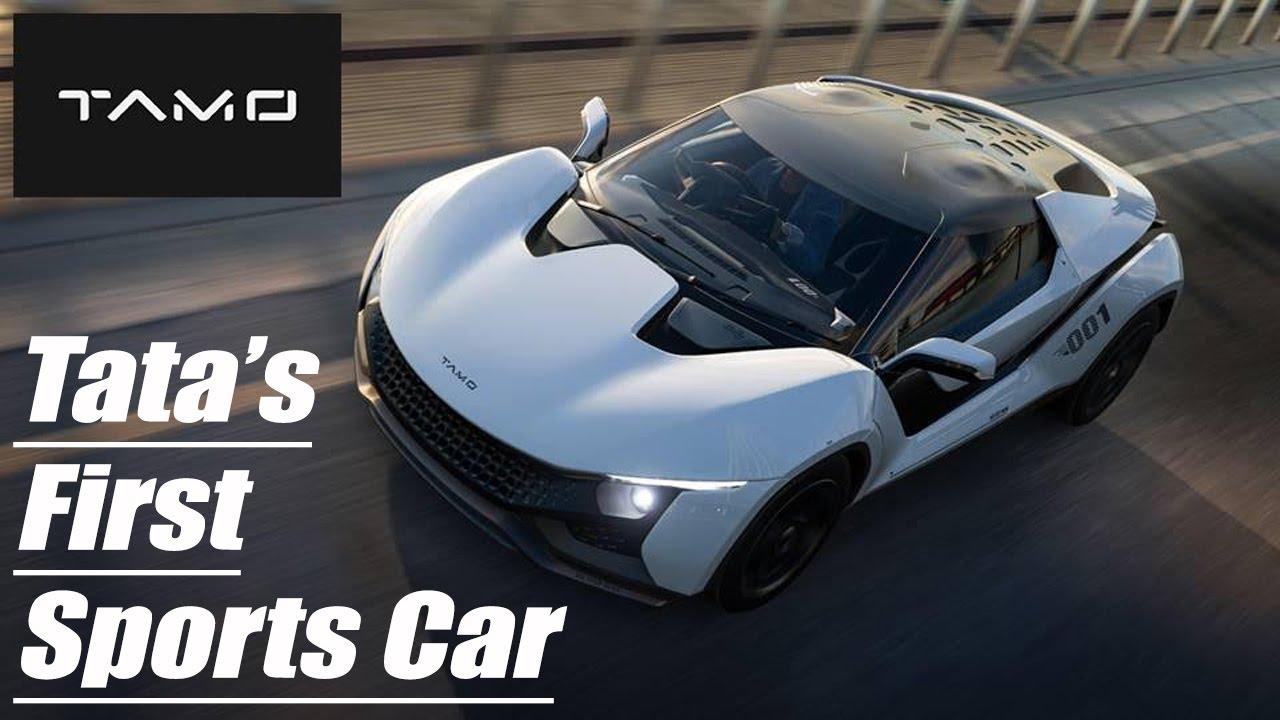 TATAS FIRST SPORTS CAR L Tata Motors Unveils Its First Sports Car - Sports cars starting with s