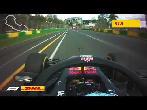 DHL Fastest Lap Award: 2018 FORMULA 1 ROLEX AUSTRALIAN GRAND PRIX