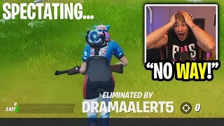 I made a new account and spectated the biggest noobs in fortnite... (so bad)