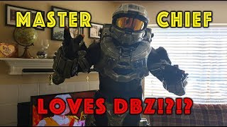Master Chief Cheats On Halo With Dragon Ball FighterZ!