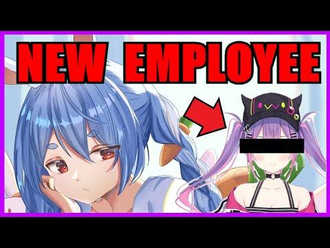 【Hololive】Pekora: New Employee Joined Usada Construction 【Minecraft】【Eng Sub】