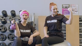 Judy and Kazza - The Fitness Studio