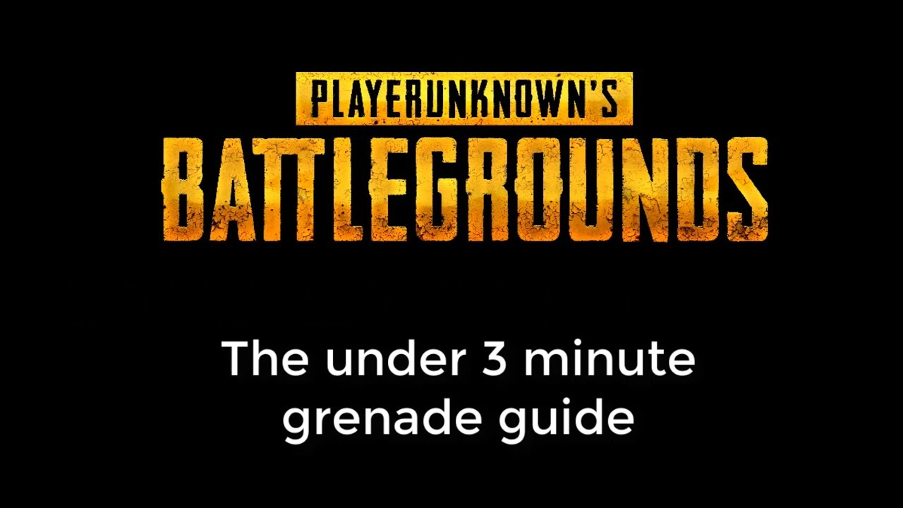 Everything About Grenades In Pubg In Less Than 3 Minutes Youtube