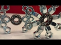 DIY Fidget Toy | Hand Spinner 8&9 | Hardware Store Items Easy To Make For Beginners