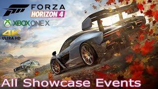 Forza Horizon 4 - All Showcase Events [4K]
