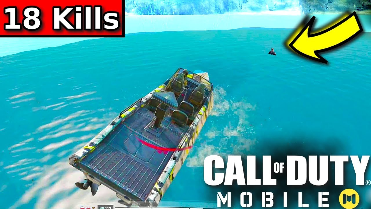 FINAL PLAYER VS BOAT | Call of Duty Mobile Battle Royale Gameplay | Call of Duty Mobile #11