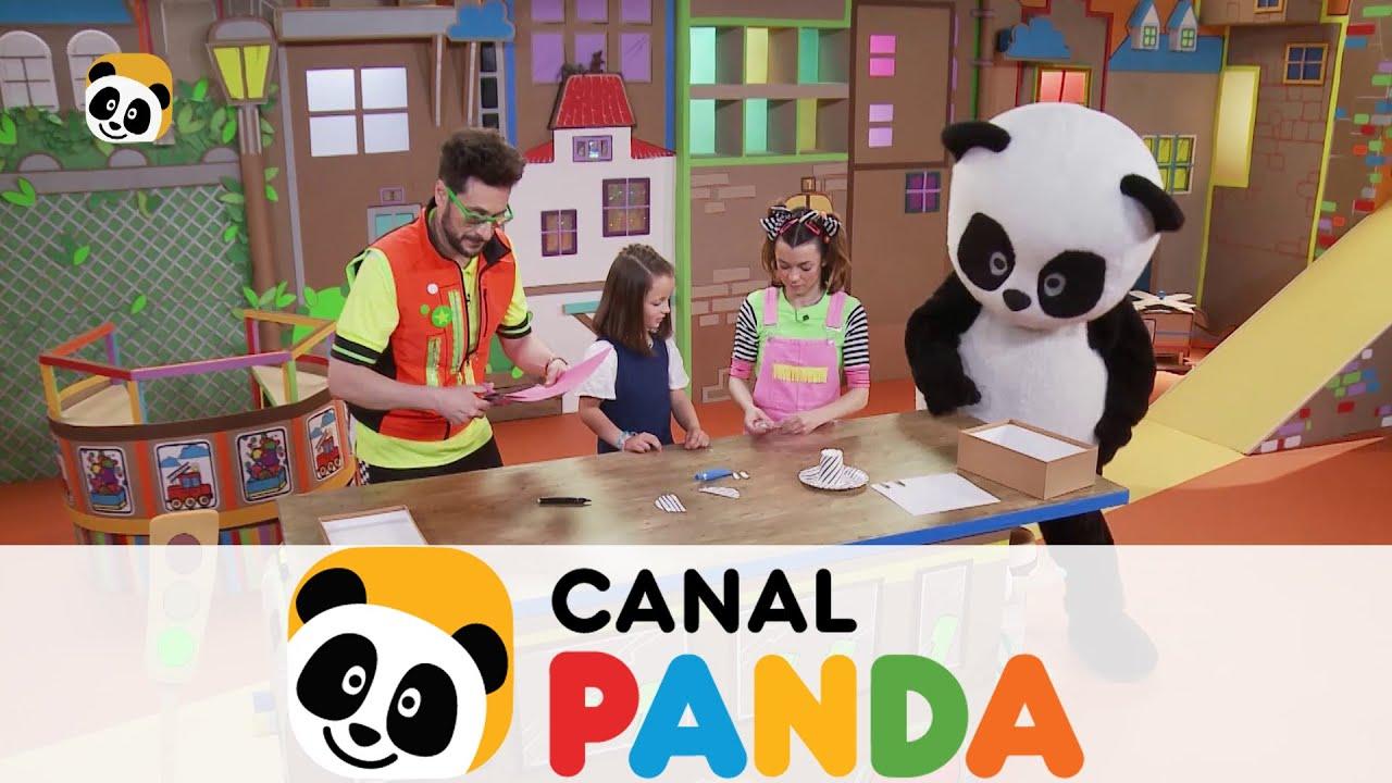 Te Enseñamos A Crear Una Cebra Con Materiales Reciclados Canal Panda Youtube