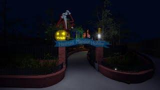 ROBLOX Gameplay Haunted Mansion Holiday (Lire la description)