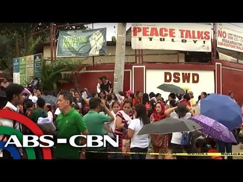 TV Patrol: Mga magulang, sumugod sa DSWD para sa educational assistance
