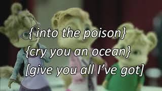 Diamond Heart{ Alvin And The Chipmunks Cover} Alan Walker  (Lyrics) ft. Sophia Somajo