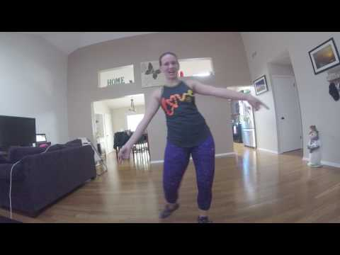 "ZUMBA WARM-UP ""Stephanie Lose Yourself"""