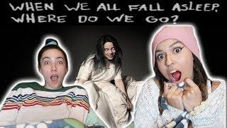 BILLIE EILISH - when we all fall asleep, where do we go? | ALBUM REACTION