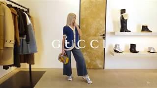 Женский ретро лук в стиле шестидесятых от GUCCI