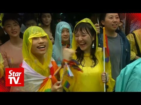Same-sex marriage is now legal in Taiwan