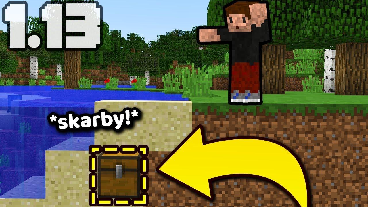 Zakopany Skarb Minecraft 113 Nowe Struktury Zio