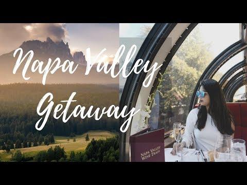 Vlog Weekend Getaway | Yountville | Napa Valley Wine Train