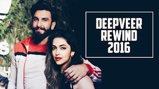 Top Deepveer Moments 2016  Deepika Padukone & Ranveer Singh
