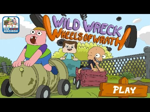Clarence: Wild Wreck Wheels of Wrath - Last Kid Standing Rules (Cartoon Network Games)