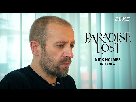 Paradise Lost   Nick Holmes  Paris 2017  Duke TV VOSTFR