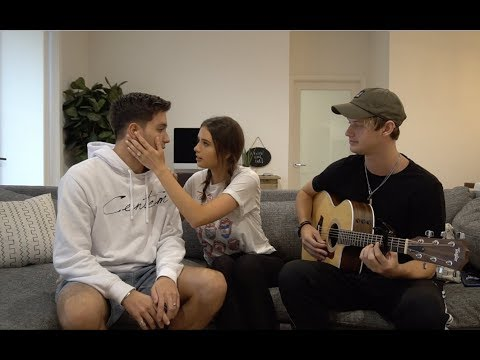 FUNNY MAKE UP A SONG CHALLENGE ft Jess & Gabriel Conte