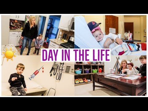 DAY IN THE LIFE OF A MOM ☀️ | FLU SHOTS + THERAPY UPDATE! | COMPARING YOURSELF TO OTHERS PEP TALK