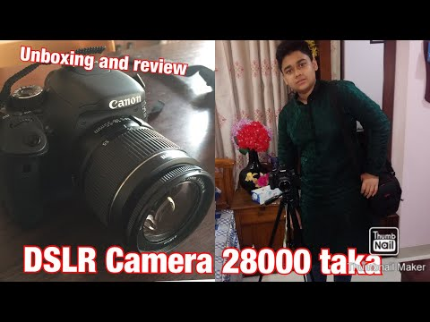 Canon EOS 600D Unboxing and Review (DSLR Cheap Rate)