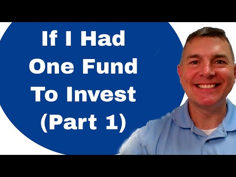 If I Had ONE Fund To Invest In... (Part 1)