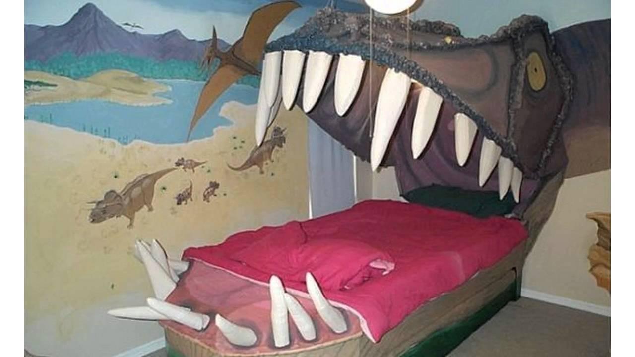 Dinosaur Bedroom Ideas - YouTube